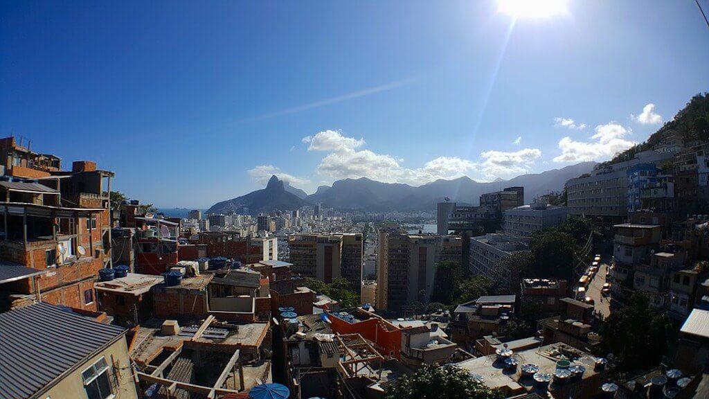 Brasilien Verhaltensregeln - Favela Rio De Janeiro